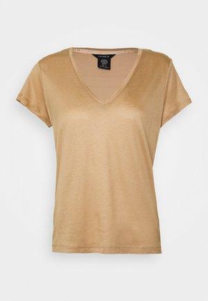 VANJA - T-Shirt basic - beige