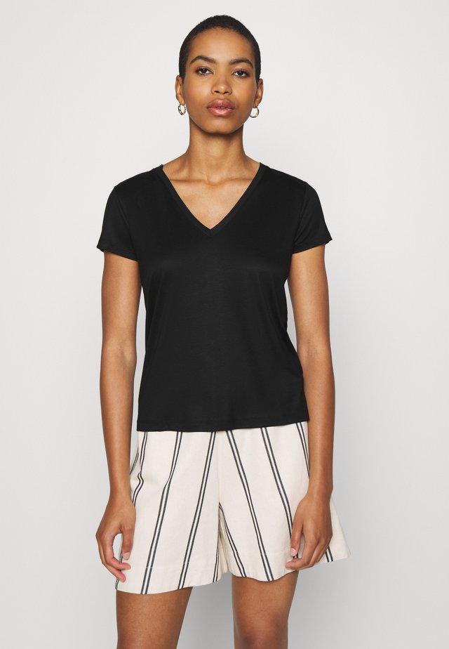 VANJA - T-shirts basic - black