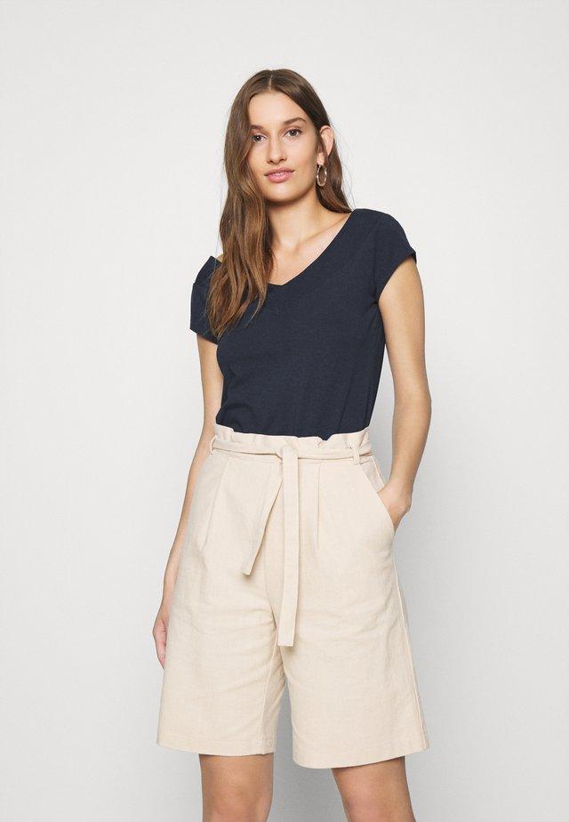 NINA - T-shirt basic - navy