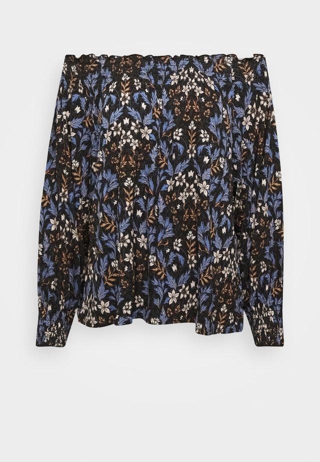 DAISY - Langærmede T-shirts - off black