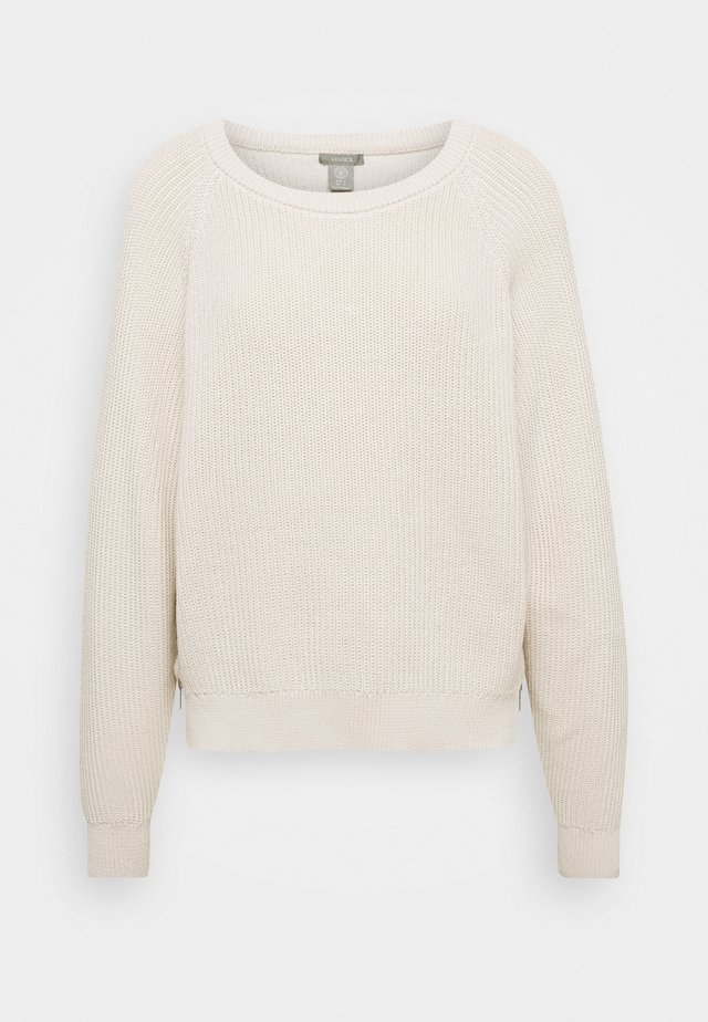 TINDRA - Pullover - light dusty white