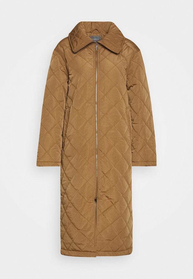 COAT ANDIE QUILT - Vinterfrakker - light brown