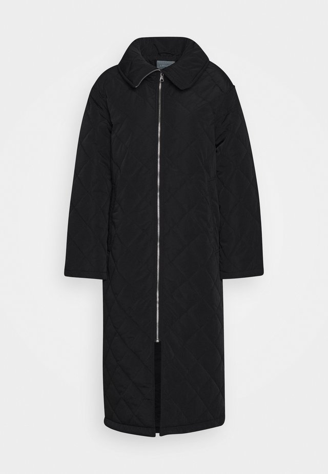 COAT ANDIE QUILT - Frakker / klassisk frakker - black