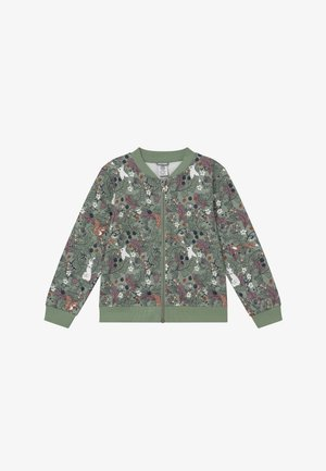 MINI SWEET - Hoodie met rits - light dusty green