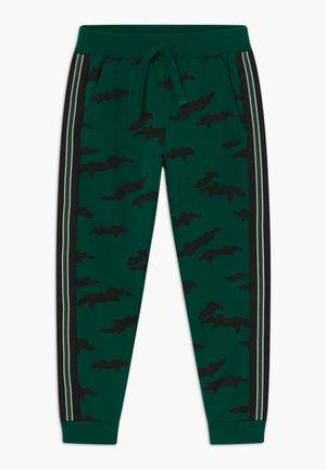 MINI TROUSERS STREET PANEL - Teplákové kalhoty - dark green