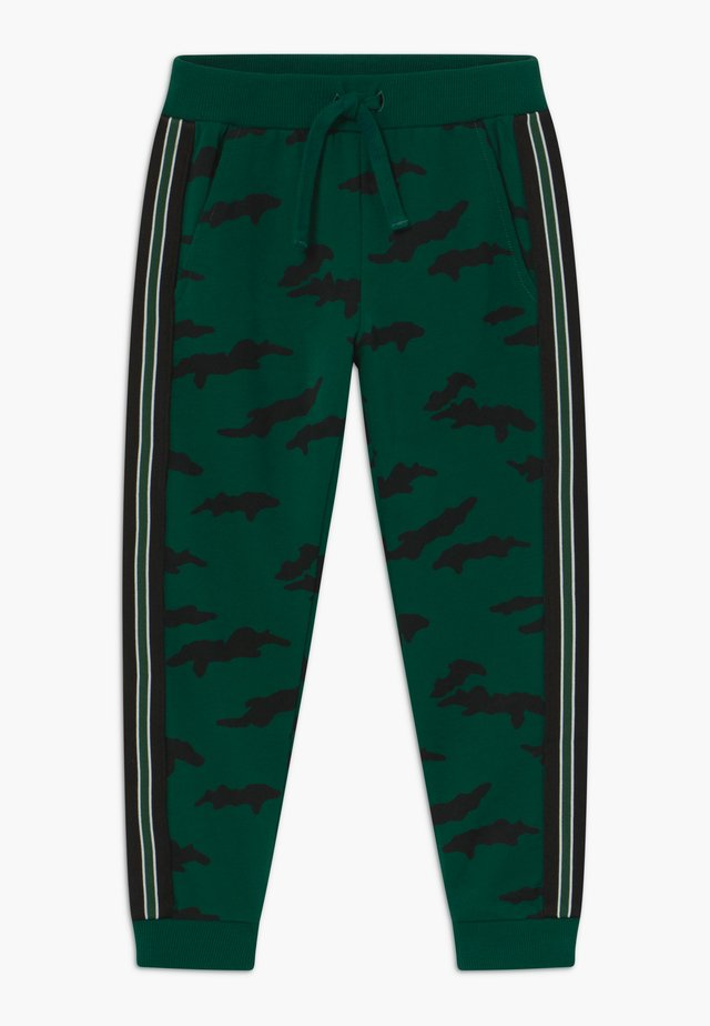 MINI TROUSERS STREET PANEL - Tracksuit bottoms - dark green