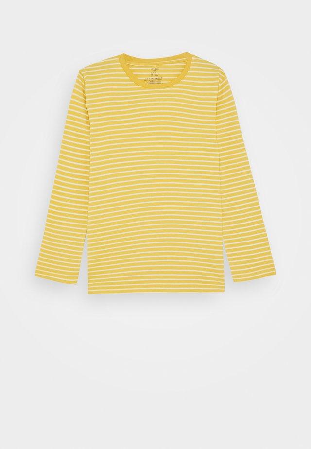 MINI BASIC STRIPE - Longsleeve - yellow