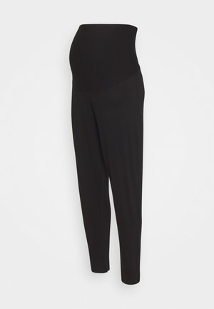 TROUSERS MOM JASMINE - Spodnie treningowe - black