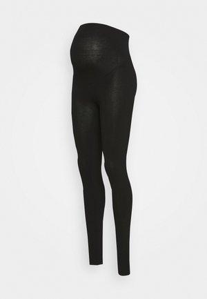 MOM LENA - Leggings - Trousers - black