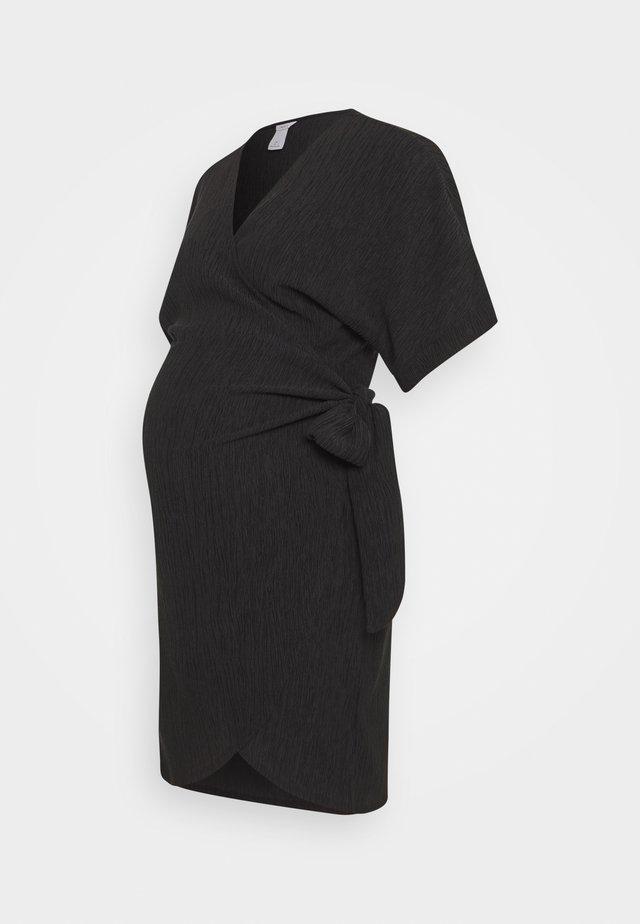 DRESS MOM LISEN - Korte jurk - black