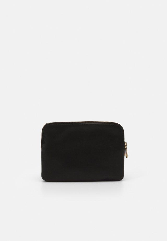 TWO POCKET BAG - Across body bag - black
