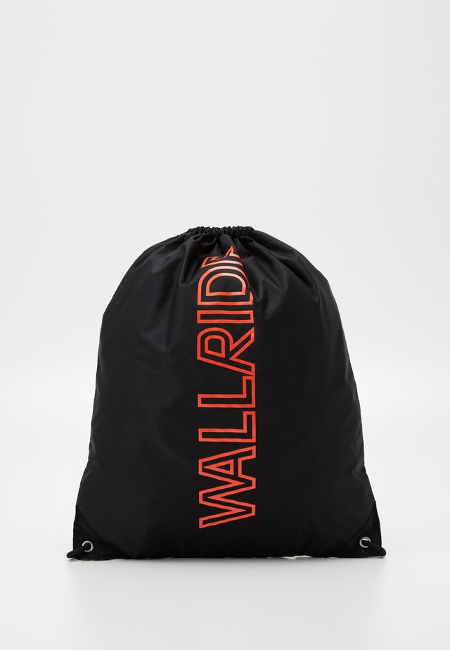 BAG DRAWSTRING WALLRIDE - Rugzakje - black