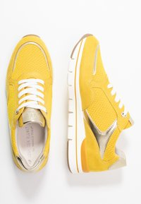 LOVE OUR PLANET by MARCO TOZZI - Trainers - yellow - 3