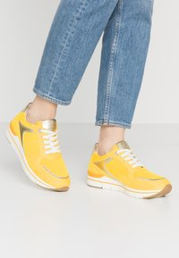 LOVE OUR PLANET by MARCO TOZZI - Trainers - yellow - 0
