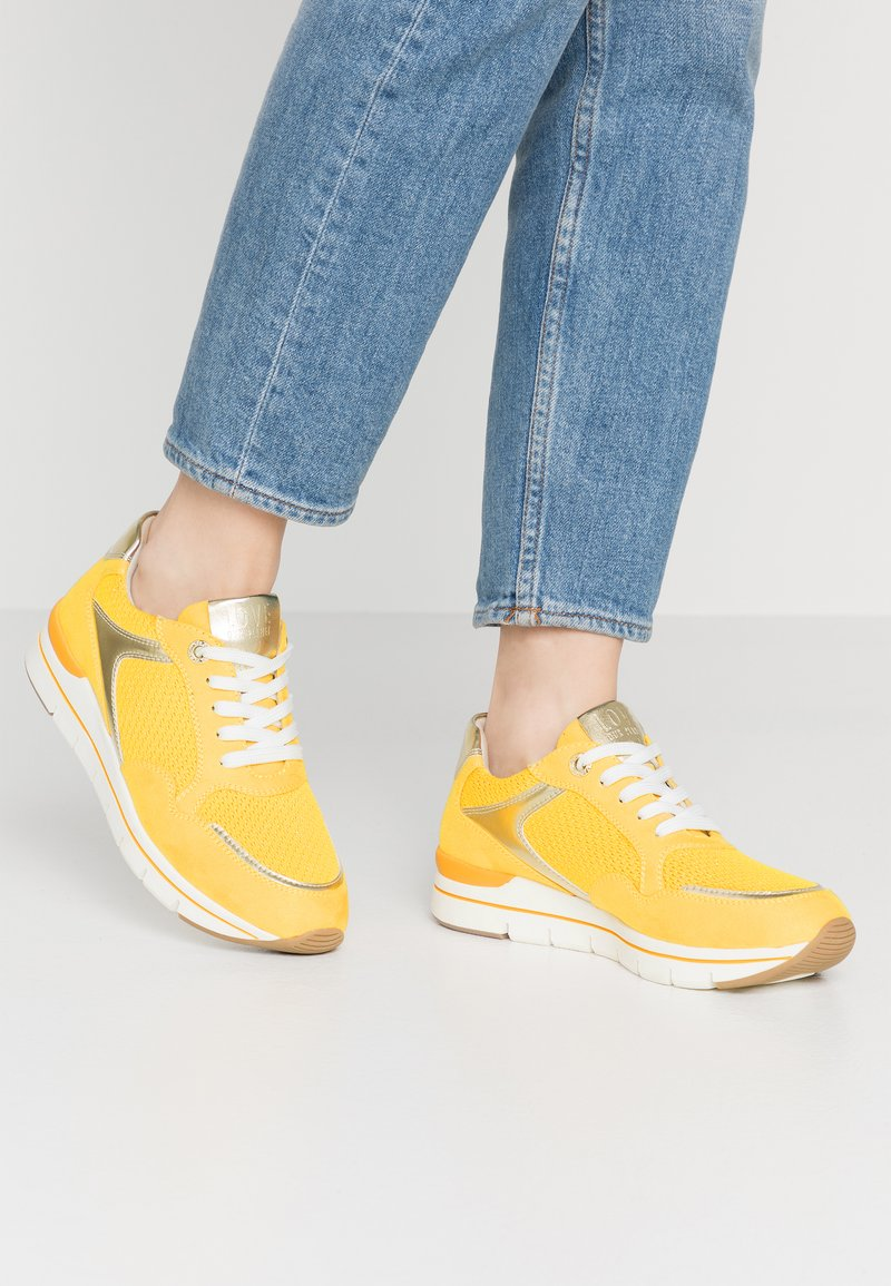 LOVE OUR PLANET by MARCO TOZZI - Trainers - yellow