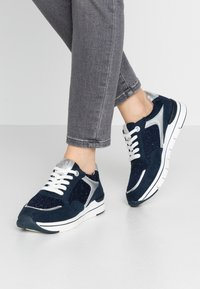 LOVE OUR PLANET by MARCO TOZZI - Trainers - navy - 0