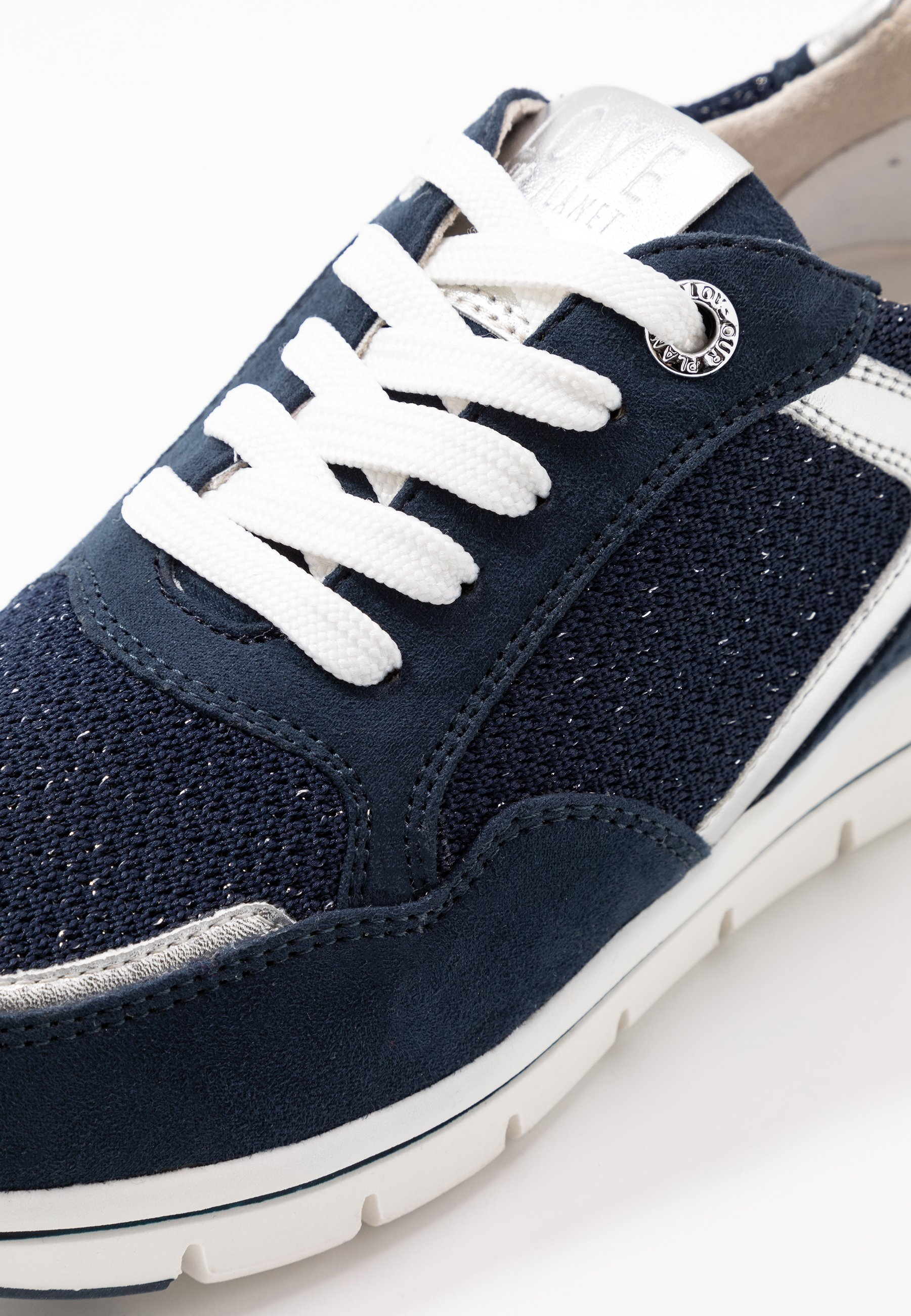 Love Our Planet By Marco Tozzi Trainers - Navy