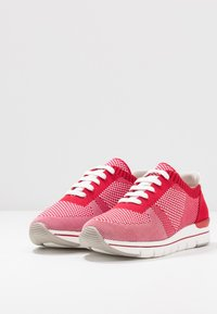 LOVE OUR PLANET by MARCO TOZZI - Trainers - red - 4