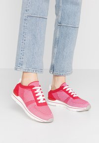 LOVE OUR PLANET by MARCO TOZZI - Trainers - red - 0
