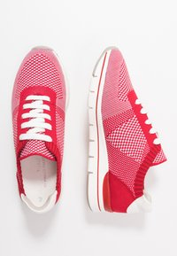 LOVE OUR PLANET by MARCO TOZZI - Trainers - red - 3