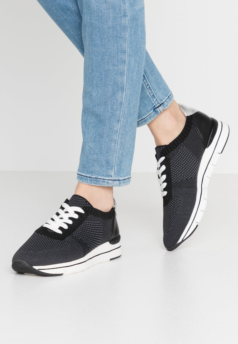 LOVE OUR PLANET by MARCO TOZZI - Trainers - black