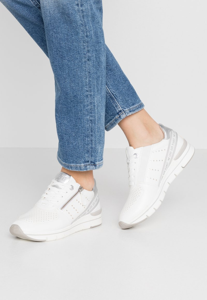 LOVE OUR PLANET by MARCO TOZZI - Trainers - white
