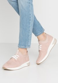 LOVE OUR PLANET by MARCO TOZZI - LACE-UP - Trainers - rose - 0