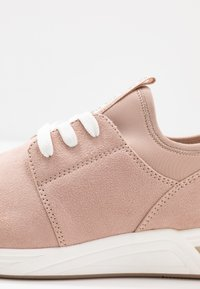 LOVE OUR PLANET by MARCO TOZZI - LACE-UP - Trainers - rose