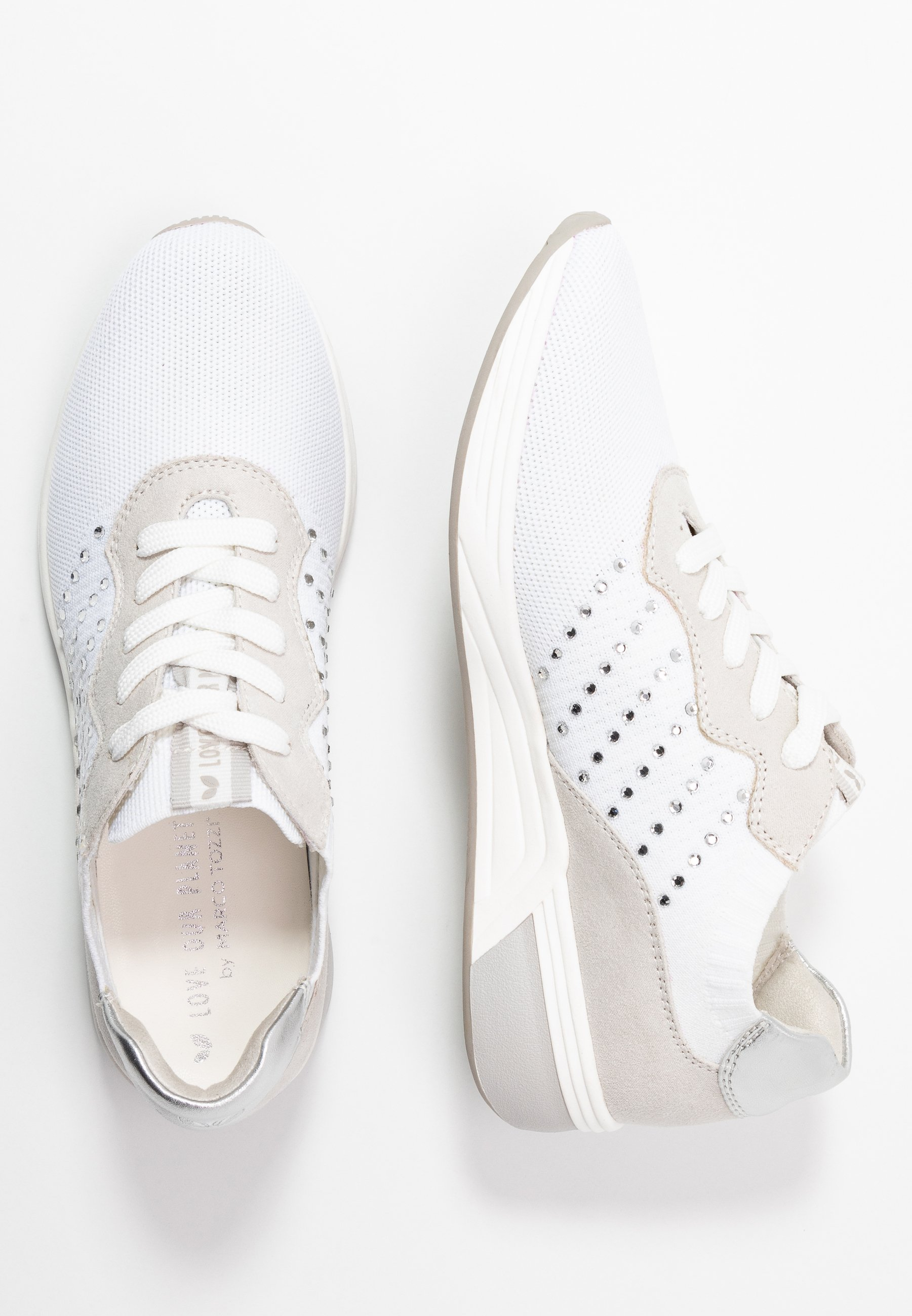 LOVE OUR PLANET by MARCO TOZZI LACE UP Joggesko white