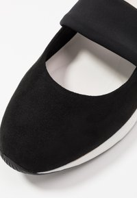 LOVE OUR PLANET by MARCO TOZZI - Ankle strap ballet pumps - black - 2