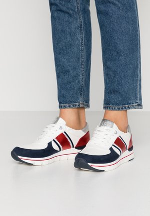 Joggesko - white/navy