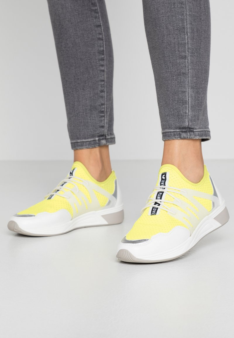 LOVE OUR PLANET by MARCO TOZZI - Trainers - neon multicolor