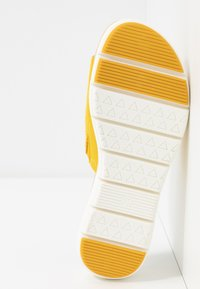 LOVE OUR PLANET by MARCO TOZZI - Slip-ins - yellow - 6