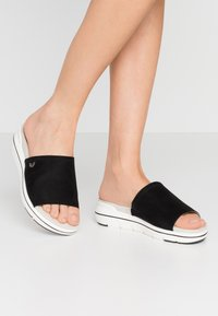 LOVE OUR PLANET by MARCO TOZZI - Mules - black - 0