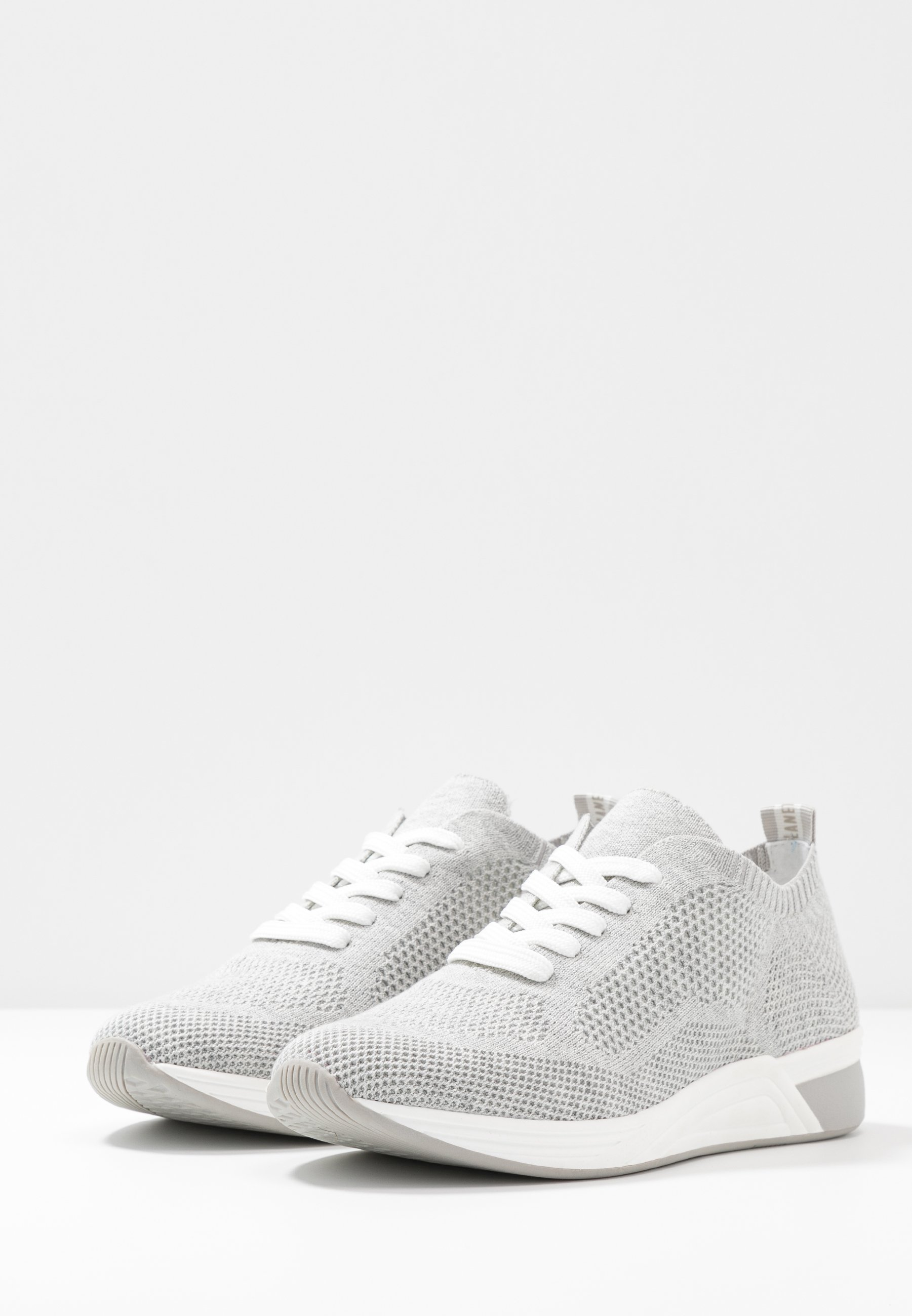 Love Our Planet By Marco Tozzi Sneakers - Light Grey