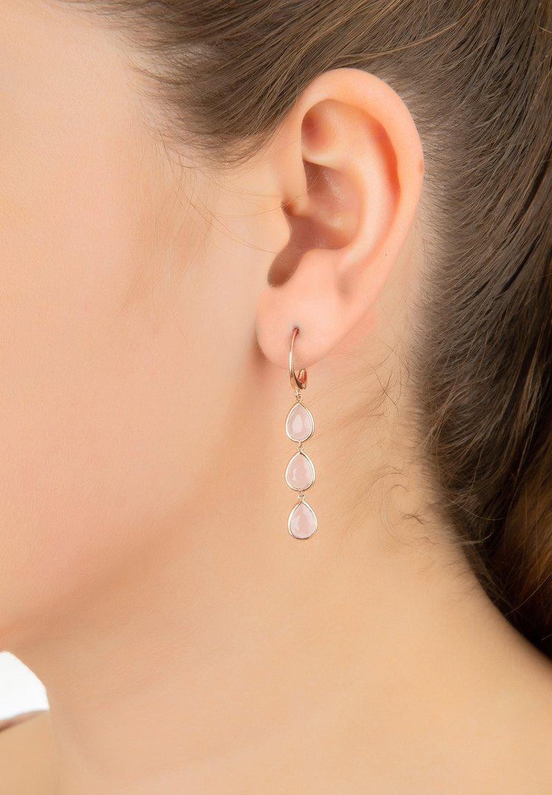 Latelita - Earrings - brown