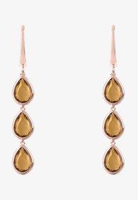 Latelita - Earrings - brown - 1
