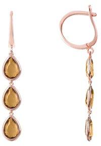 Latelita - Earrings - brown - 2