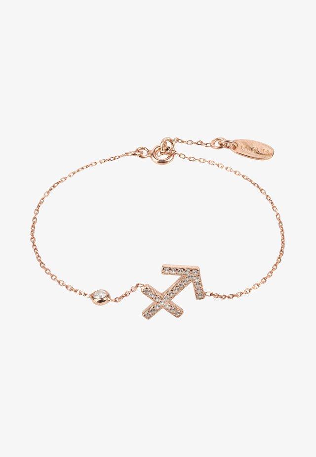 SCHÜTZE STERNZEICHEN - Armband - rose gold-coloured