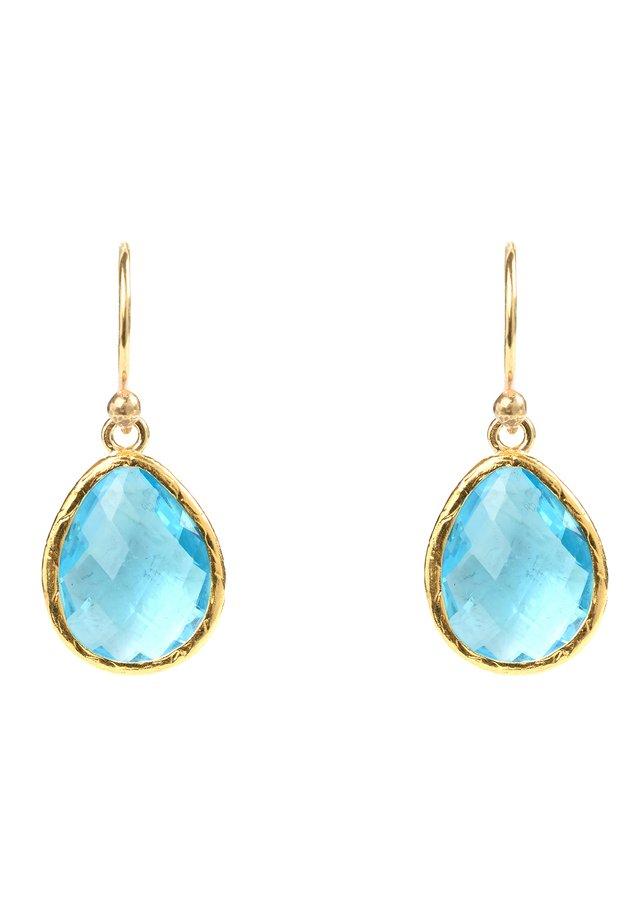 Ohrringe - blau