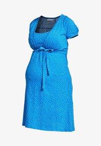 Love Milk Maternity - Jerseyklänning - blue - 5