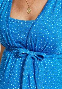 Love Milk Maternity - Jerseyklänning - blue - 3