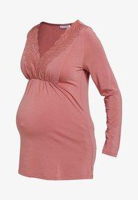 Love Milk Maternity - Långärmad tröja - salmon - 5