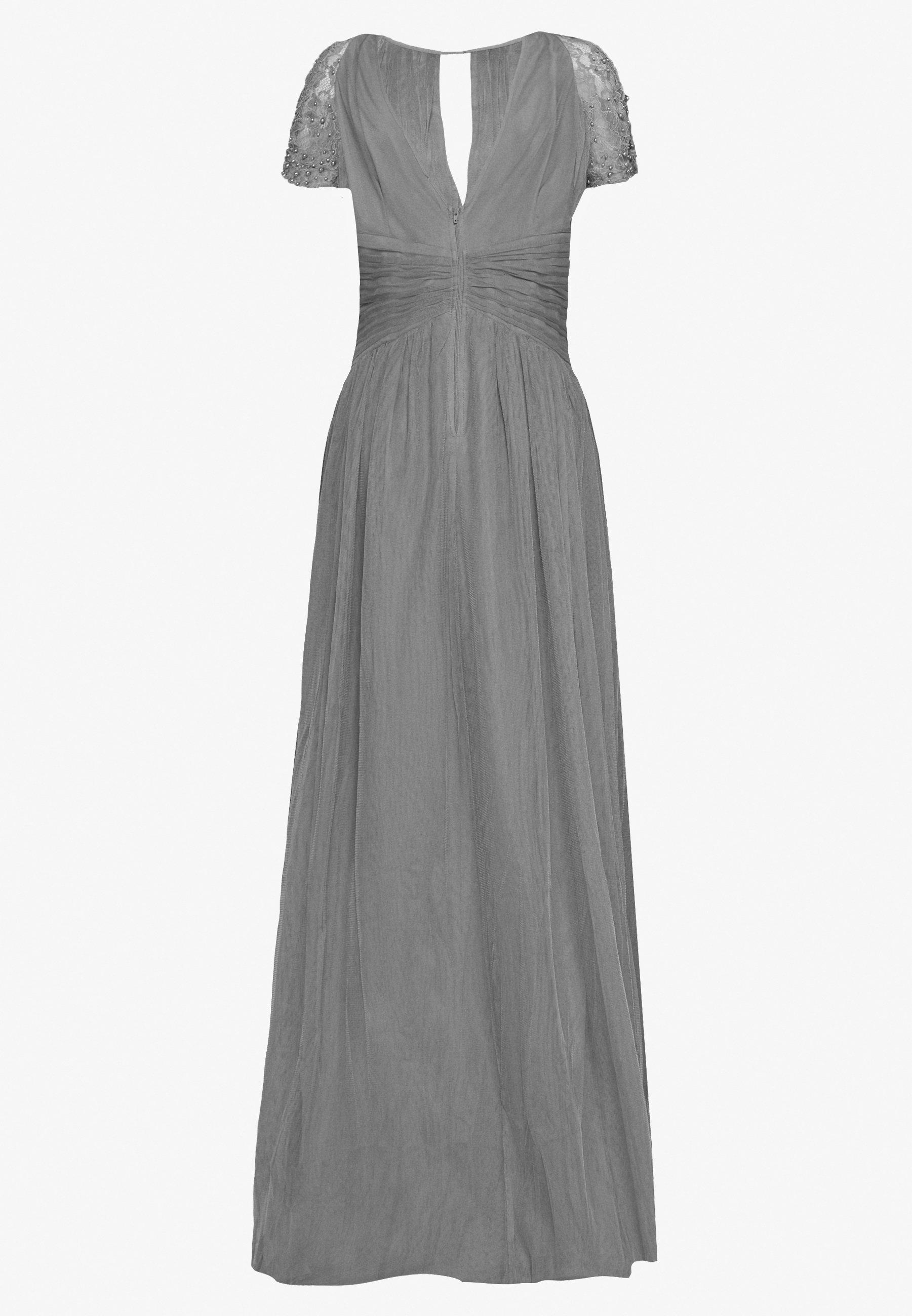 Little Mistress Tall Festklänning - Light Grey
