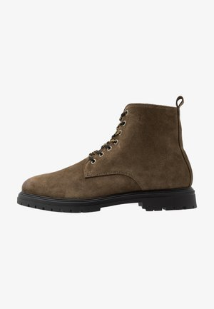 CAIO - Lace-up ankle boots - bosco brown