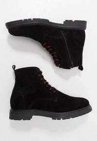 LAST STUDIO - CAIO - Lace-up ankle boots - black - 1