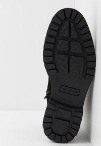 LAST STUDIO - CAIO - Lace-up ankle boots - black - 4