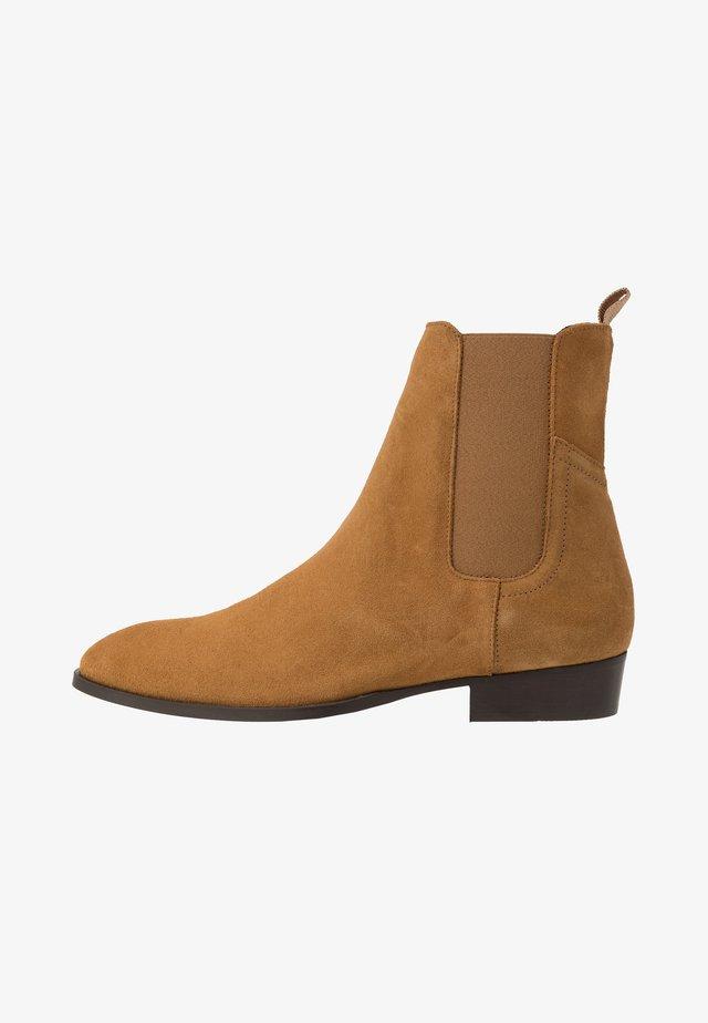 FACHNAN - Kotníkové boty - whisky