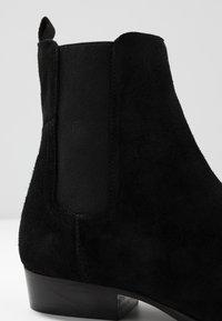 LAST STUDIO - FACHNAN - Classic ankle boots - black - 5