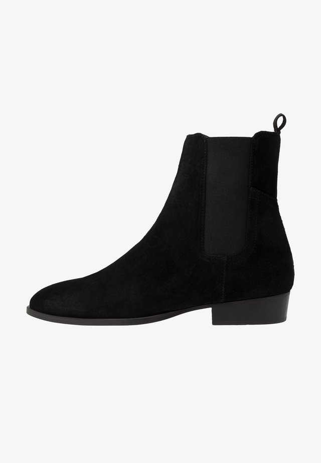 FACHNAN - Classic ankle boots - black